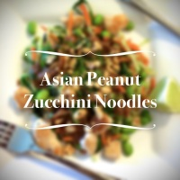 Zucchini Makes Great Asian-Inspired Pasta
