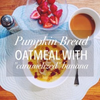 Not-Your-Average Pumpkin Bread for Breakfast