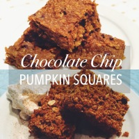 Mmm, Mmm Pumpkin Squares