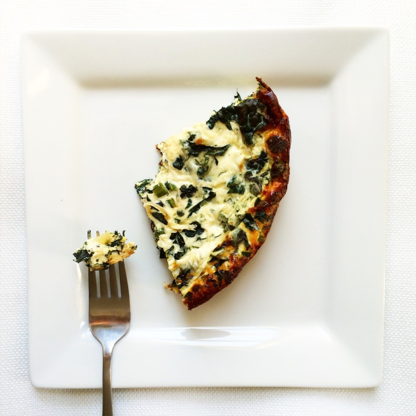 Sage, Kale & Caramelized Onion Quiche