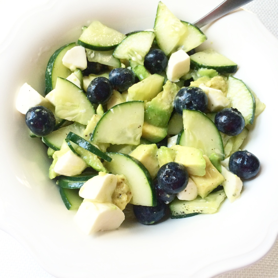 Spring Avocado & Cucumber Salad