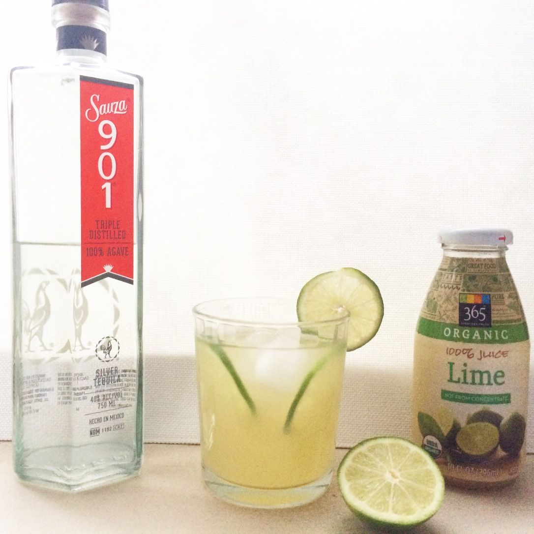Four Ingredient Margaritas