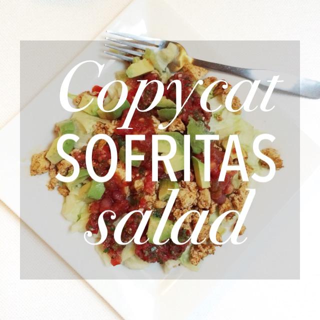 Copycat Sofritas Salad