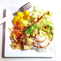 Sweet & Spicy Chopped Asian Salad