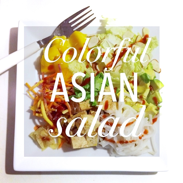 Colorful Asian Salad