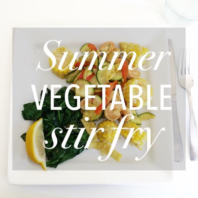 Summer Stir Fry