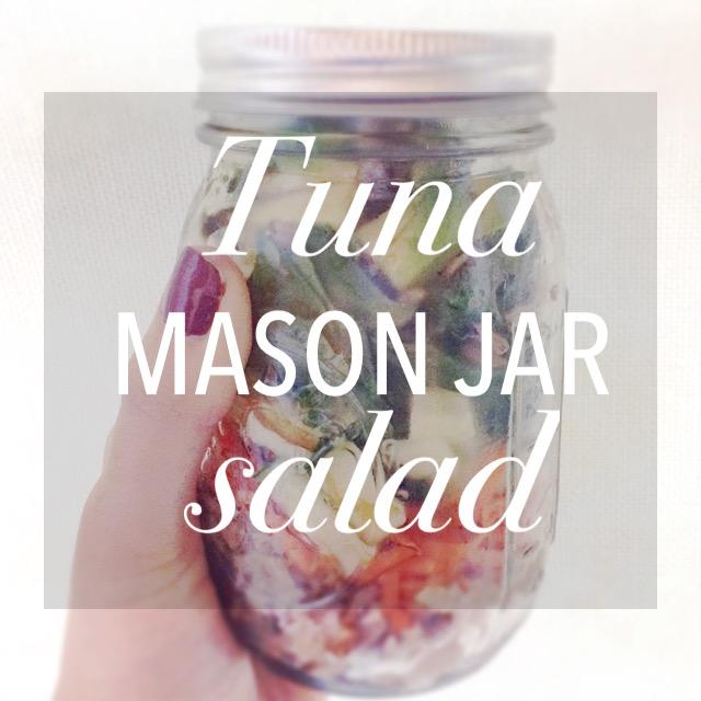 Tuna Mason Jar Salad