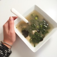"Craving Miso Soup: A ""Green"" & Spicy Version"