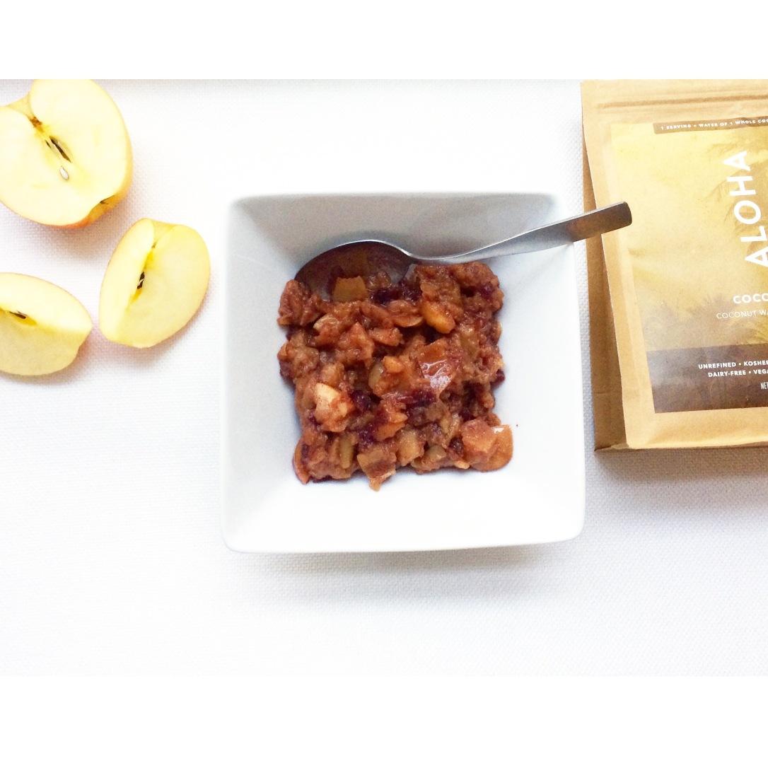 Cranberry Cinnamon Applesauce