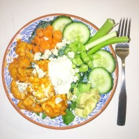 Best (& Still Quite Healthy) Buffalo Chic Salad