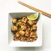 Crispy, Crunchy Coconut Tofu