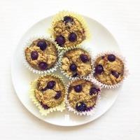 Cha-cha-cha Chia Blueberry Muffins