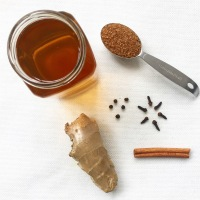 The Best Homemade Spicy Ginger Tea