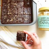 Tantalizing Tahini Brownies