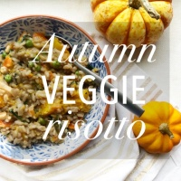 Creamy Autumn Harvest Risotto