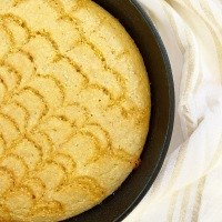 Cast Iron Skillet Honey Cornbread