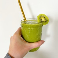 Refresh with a Green Smoothie